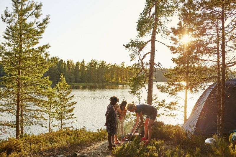 Ở đất nước Thụy Điển, giữa con người và thiên nhiên có sự gắn kết lạ kỳ