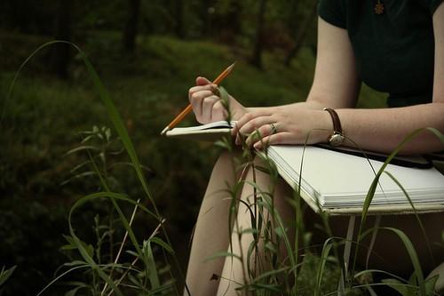 Viết nhật kỳ giúp bạn bày tỏ cảm xúc của mình sau các trải nghiệm cùng thiên nhiên