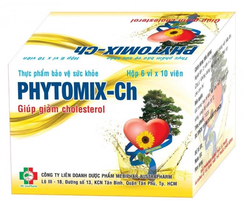 Với thành phần sterol/ stanol thực vật, Phytomix-Ch giảm cholesterol trong máu an toàn và hiệu quả