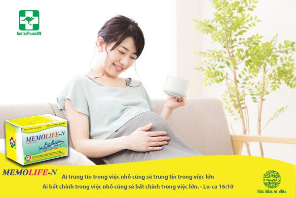 DHA và phụ nữ mang thai