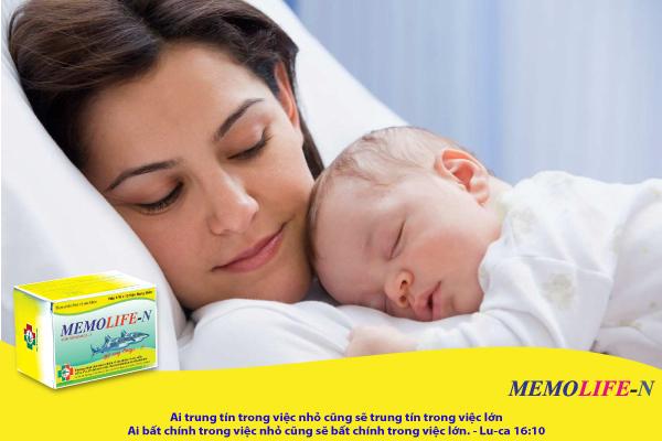 Bổ sung DHA cho trẻ sơ sinh, sinh non, sinh mổ