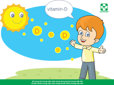 Còi xương vì... vitamin D
