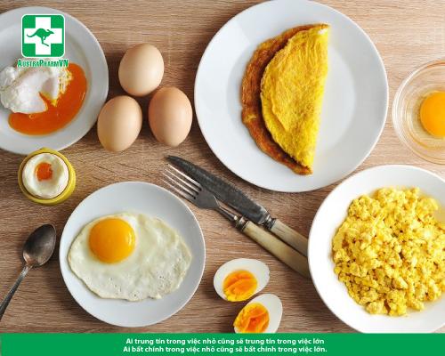 Ăn nhiều trứng làm tăng cholesterol?