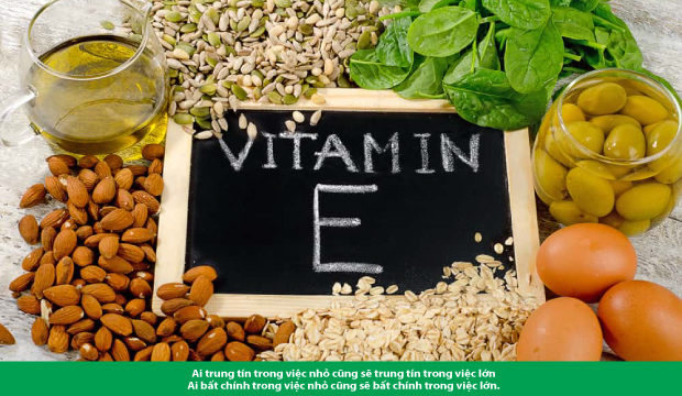 """Vitamin E, """"thần dược"""" với cơ thể"""